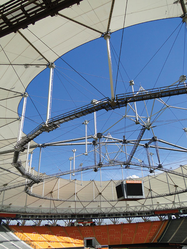 Structure Magazine Translucent Dome For Argentine Soccer