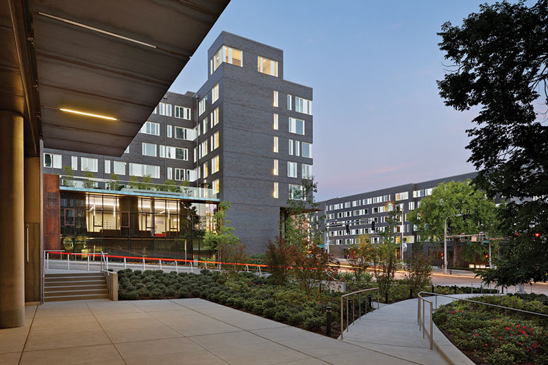 For The New University Of Washington Campus Buildings Design Team Used Wood Frame