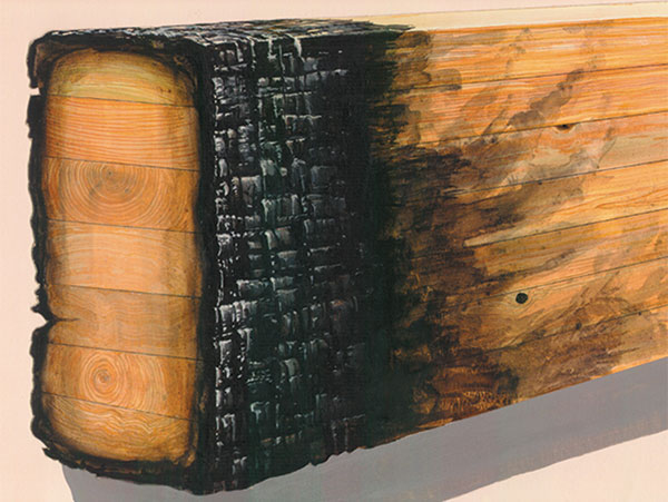 Structure Magazine Post Fire Analysis Of Solid Sawn