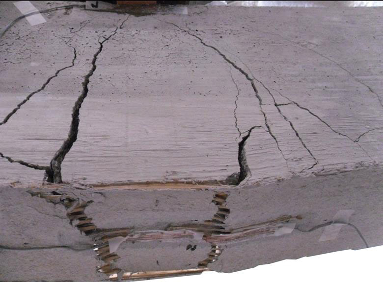cracked unreinforced masonry tensile stress