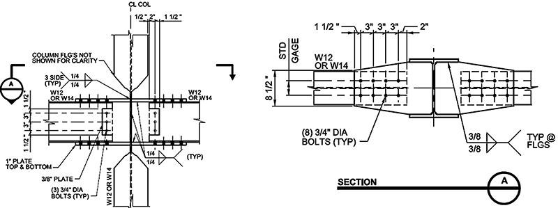 Steel Frame Connection Details - Page 7 - Frame Design ...