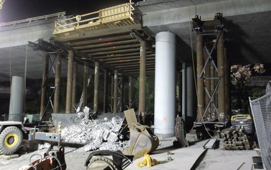 Bridge Hinge Reconstruction in San Francisco