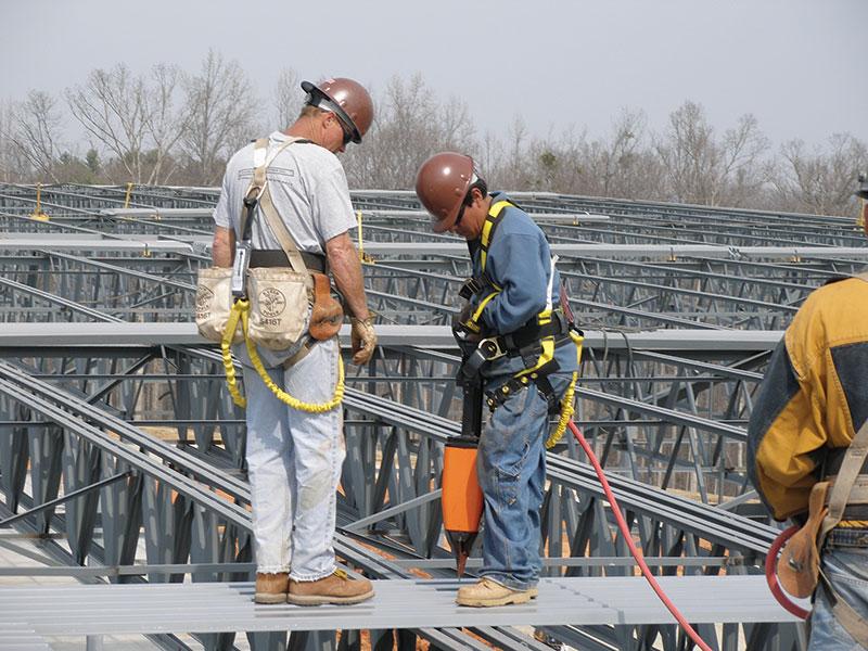 Structure Magazine Fastening Steel Deck