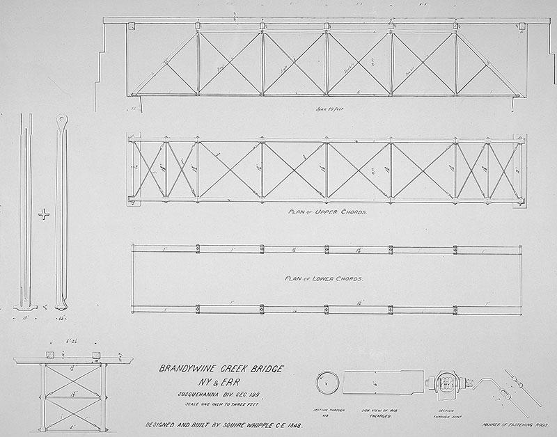 warren truss bridge diagram the first truss was probably a