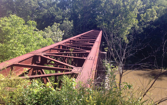 Civil War Era Trestle Bridge Gets Advanced 21st Century Makeover