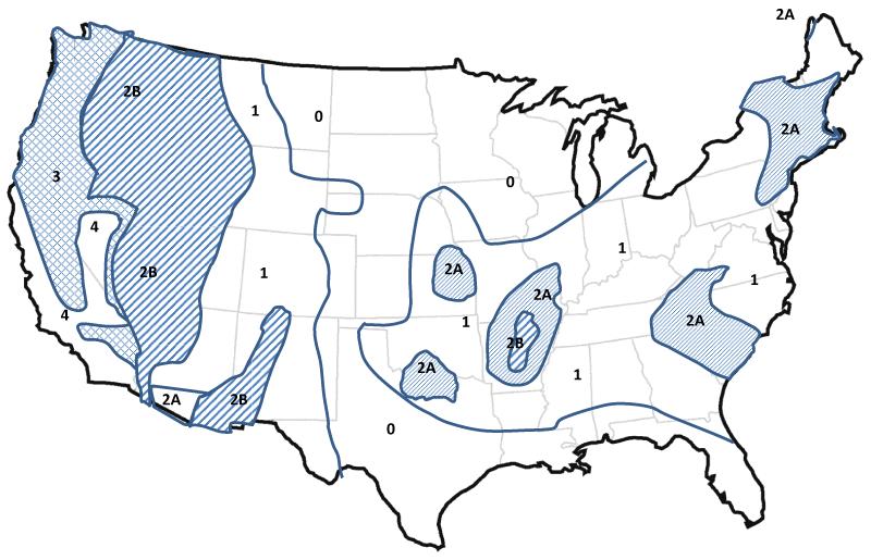 STRUCTURE Magazine Seismic Design Value Maps - Us geological survey contour map for seismic design