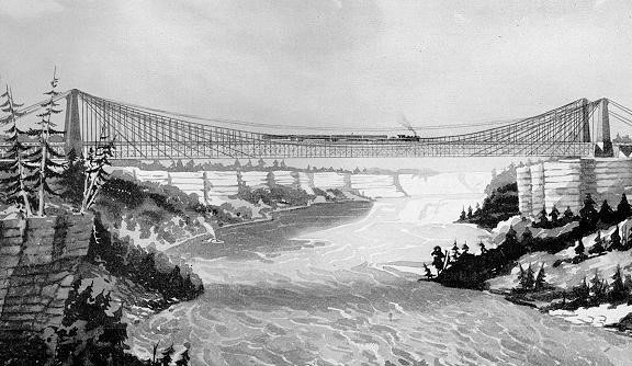 STRUCTURE magazine | John A  Roebling's Niagara River