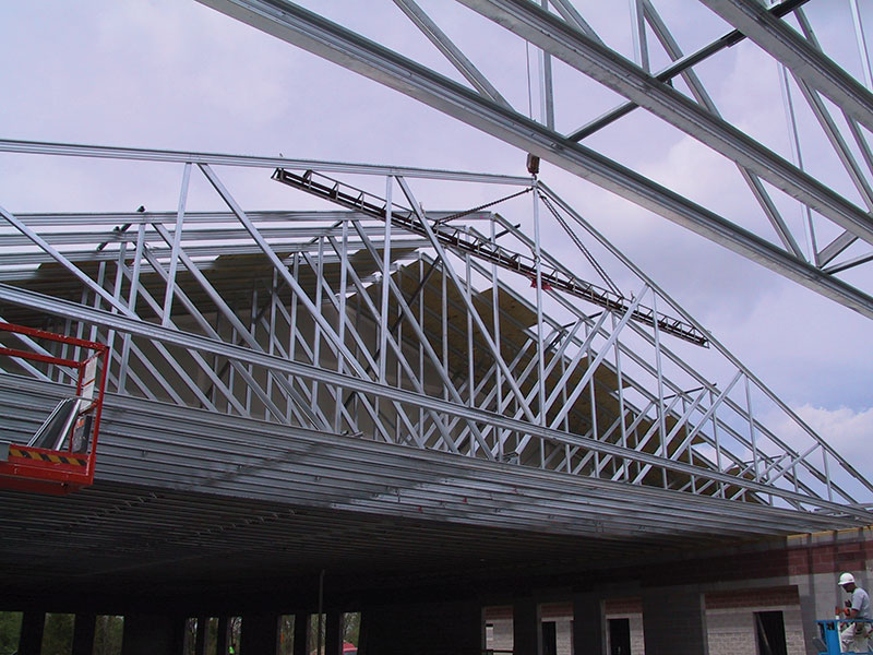 Structure Magazine Long Span Cfs Trusses Reach New Heights