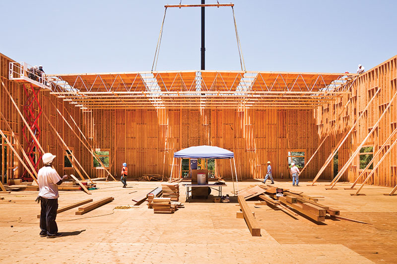 long span roof construction 2018-4-4 the primary design consideration in choosing the minimum size and the maximum span and  addresses support of a roof and  chapter 4, floor construction.