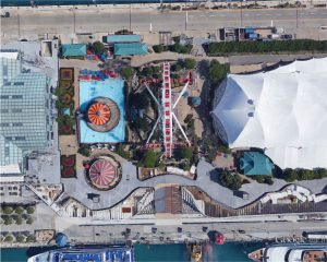 Figure 1. Pier Park at Navy Pier. Courtesy Google Earth©.