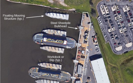 Revamped Ferry Maintenance Facility