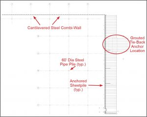 Figure 4. Overall piling plan.