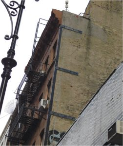 Figure 4. Bearing masonry corner repair.