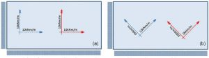 Figure 3. Slab configuration and reinforcement layouts; a) Initial layout, b) 'Optimized' layout.