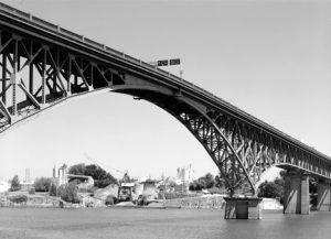 Ross Island Bridge. Courtesy of HAER.