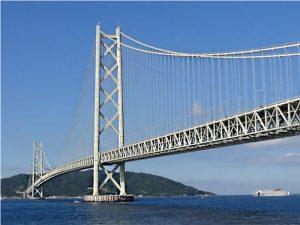 Figure 3. Akashi-Kaikyo Bridge.