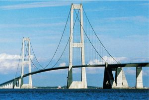 Figure 4. Great Belt East Bridge.