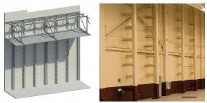 Figure 4. Steel wall bracing.