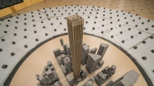 Wind tunnel testing of the tall and slender 432 Park Avenue played a key role in evaluating the effects of vortex shedding created by its very uniform shape.