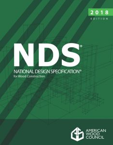 Figure 1. The 2018 NDS is now available and is referenced in the 2018 IBC.