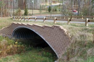 Figure 1. A steel buried bridge.