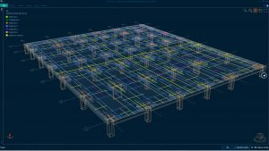 Reinforced concrete slab design using RCDC FE