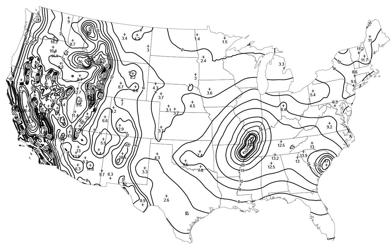 Us Seismic Design Map STRUCTURE magazine | Seismic Design and Hazard Maps: Before and After