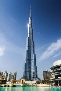 Burj Khalifa – currently the world's tallest building.