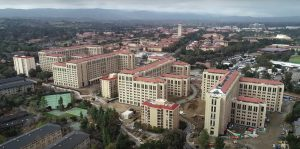 The Escondido Village Graduate Residences (EVGR) at Stanford University.