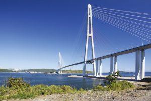 Figure 1. Russky Island Bridge.
